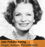 Jane Pickens Hoving